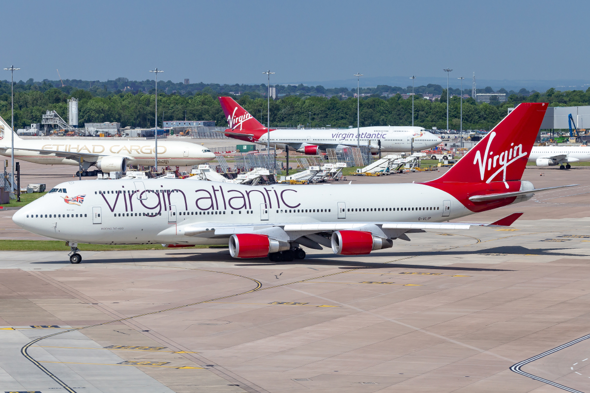 Virgin Atlantic 747-400