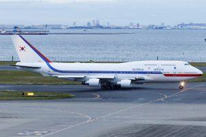 Korean Air Force ONE Tokyo