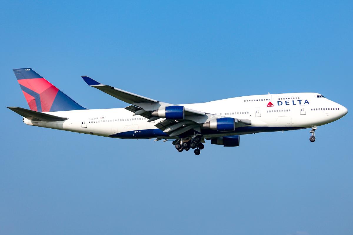 Delta Air Lines 747-400