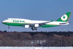 EVA Airways 747-400