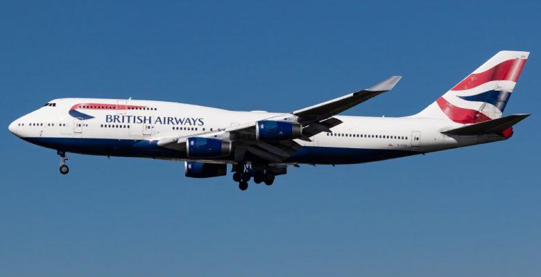British Airways 747-400