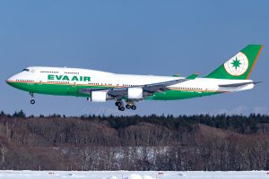 EVA Airways 747-400